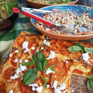 Happy Food At home pizza